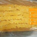 مرکز پخش نبات نخ دار زعفرانی